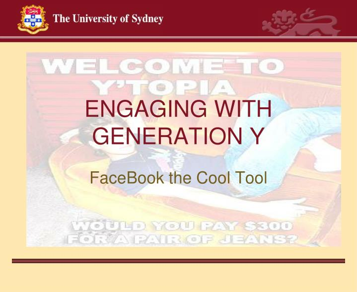 engaging with generation y n.