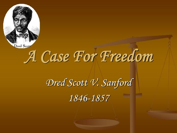 a case for freedom n.