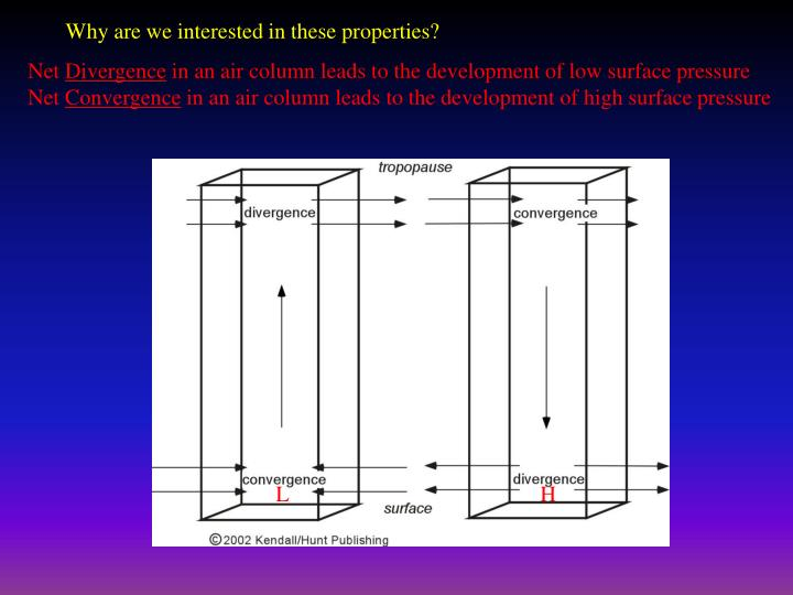 Why are we interested in these properties?