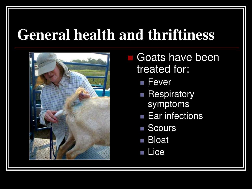 General health and thriftiness