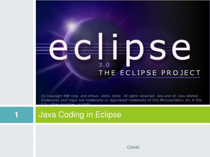 java coding in eclipse n.