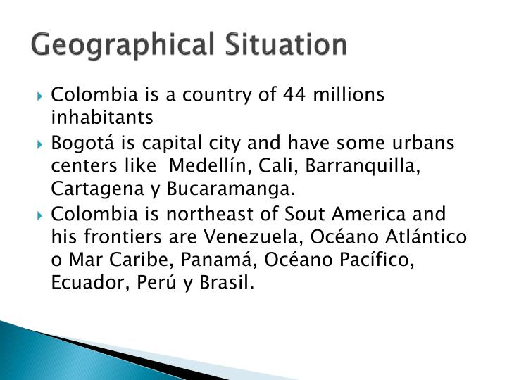 Geographical situation