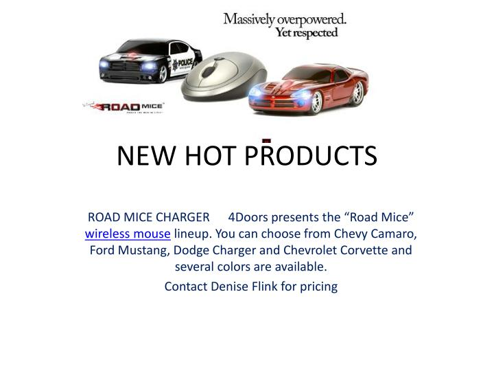 new hot products n.