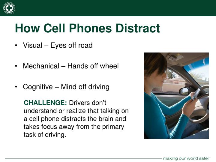 How Cell Phones Distract