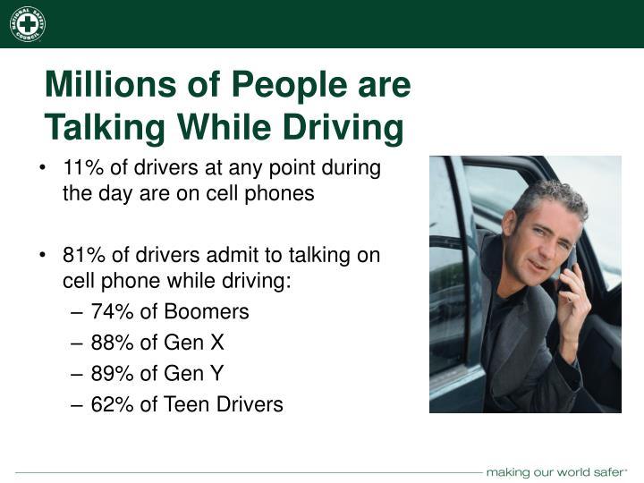 Millions of People are Talking While Driving