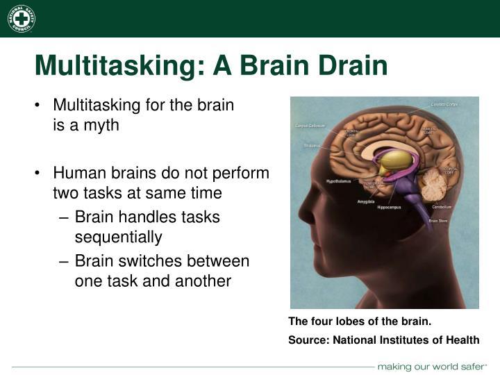 Multitasking: A Brain Drain
