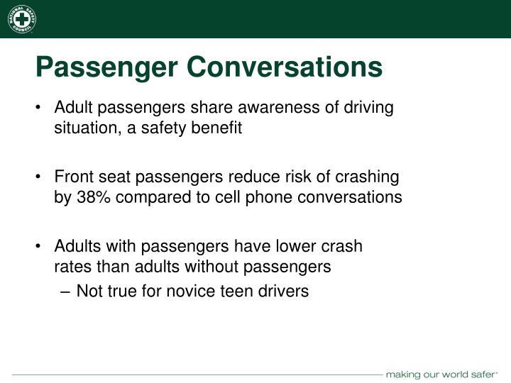 Passenger Conversations