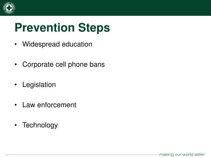 Prevention Steps