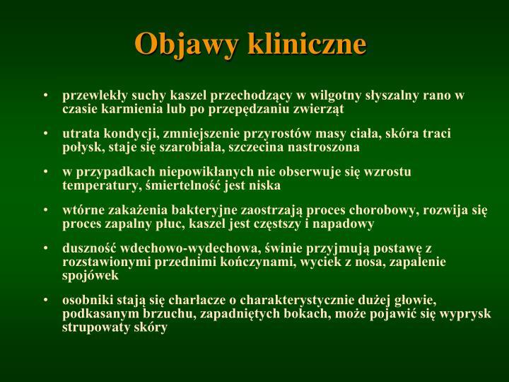 Objawy kliniczne