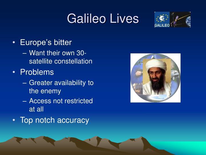 Galileo Lives