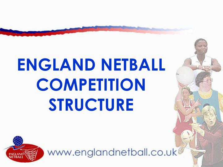 England netball competition structure