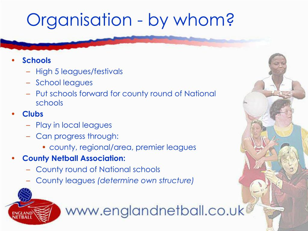 Organisation - by whom?