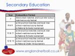 secondary education10