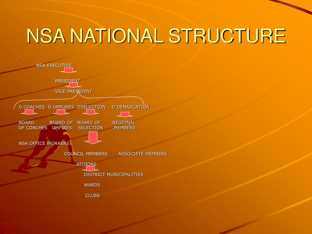 NSA NATIONAL STRUCTURE