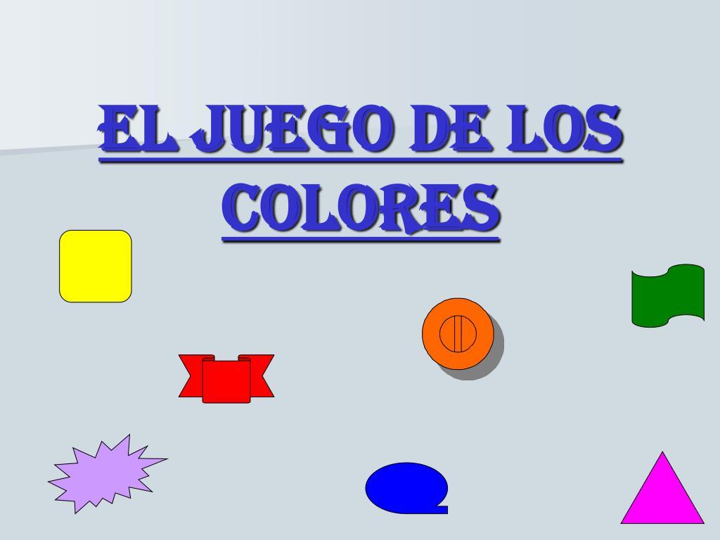 el juego de los colores l.