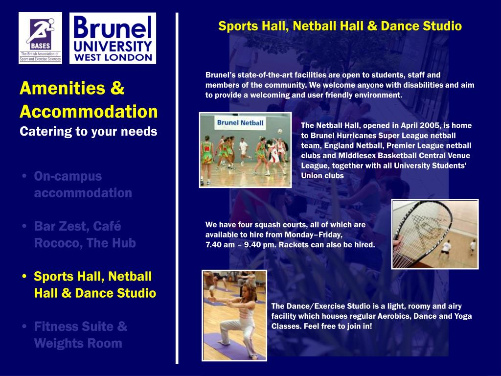 Sports Hall, Netball Hall & Dance Studio
