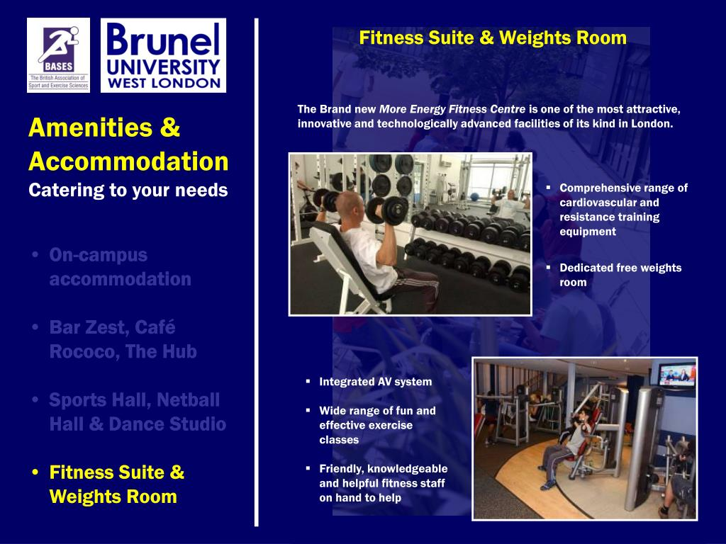 Fitness Suite & Weights Room