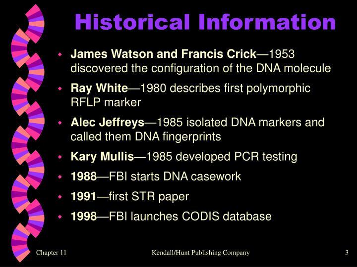 Historical Information