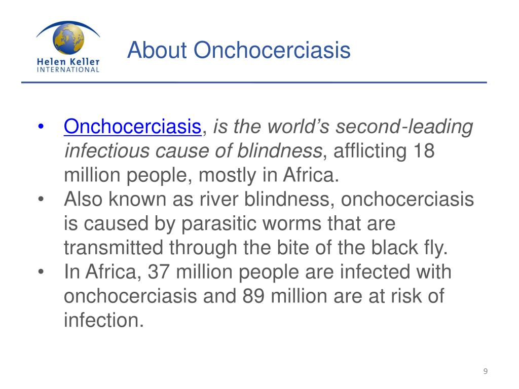 About Onchocerciasis