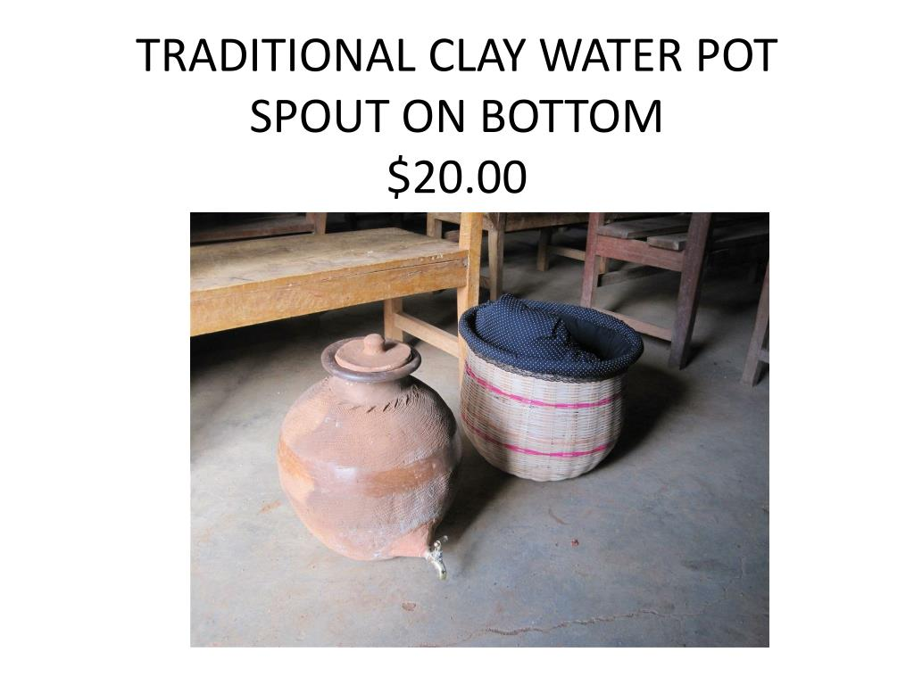 TRADITIONAL CLAY WATER POT