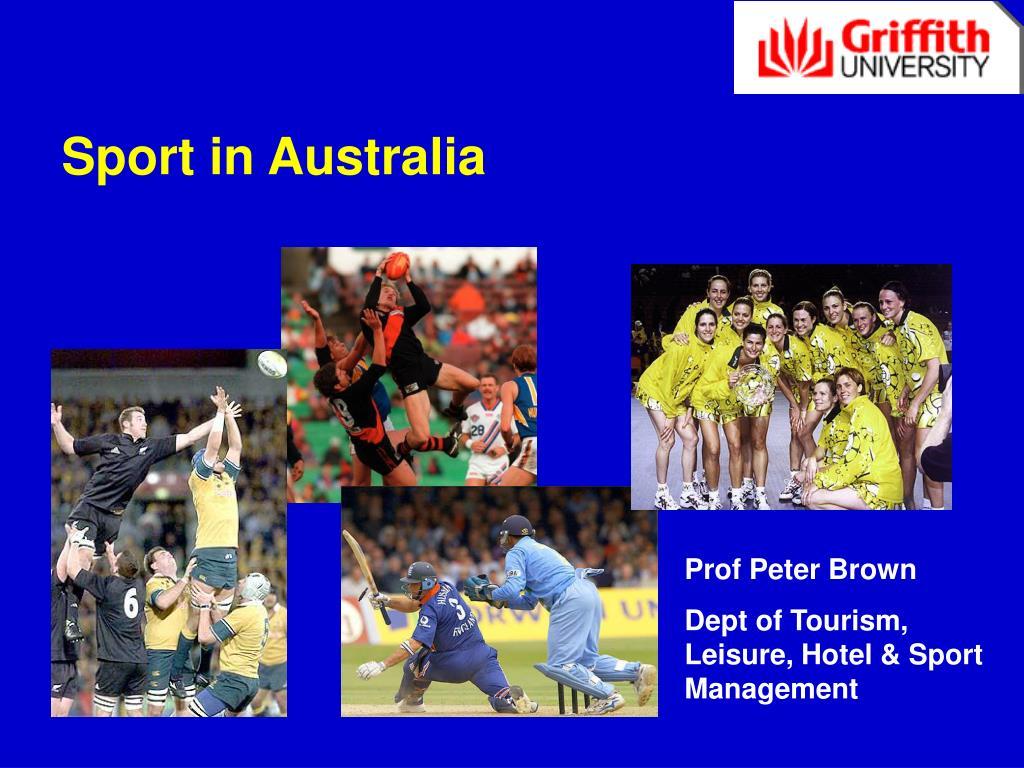 sport in australia l.