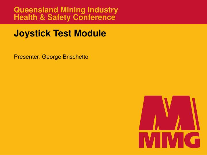 queensland mining industry health safety conference n.
