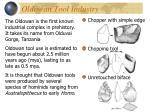 oldowan tool industry