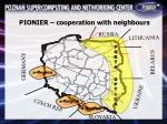 pionier cooperation with neighbours