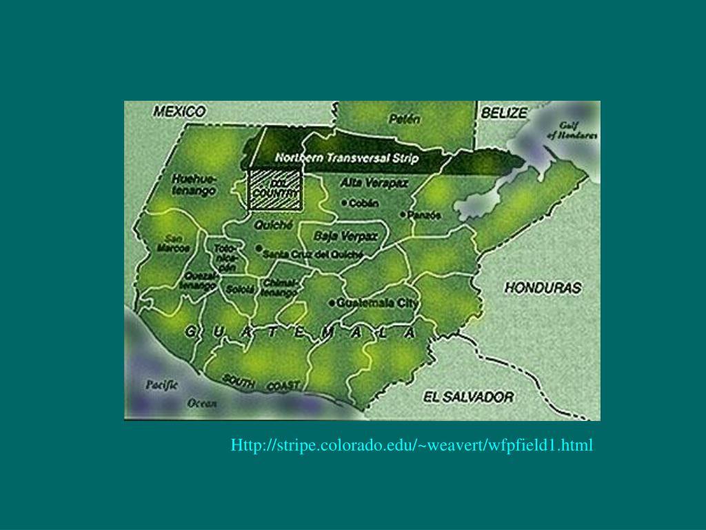 Http://stripe.colorado.edu/~weavert/wfpfield1.html