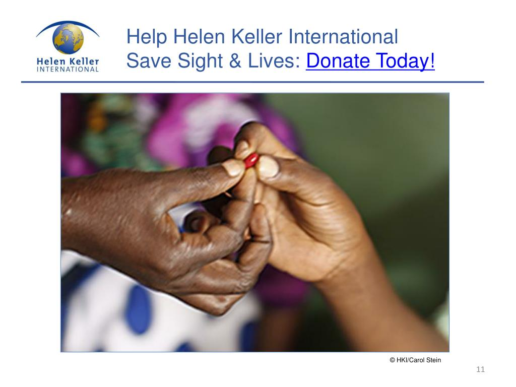 Help Helen Keller International