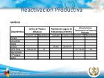 reactivaci n productiva