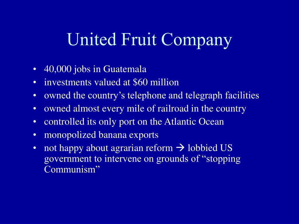 United Fruit Company