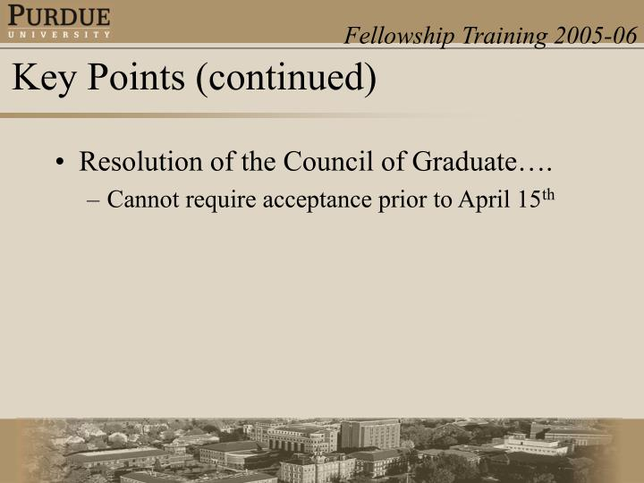 Resolution of the Council of Graduate….