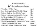 central america int l buyer program events