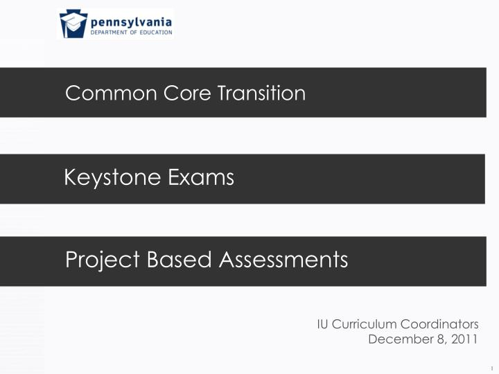 common core transition n.