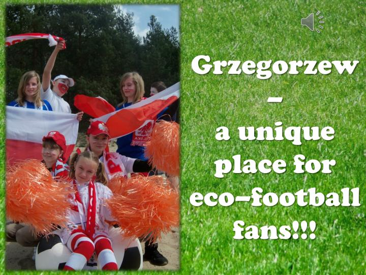 grzegorzew a unique place for eco football fans n.