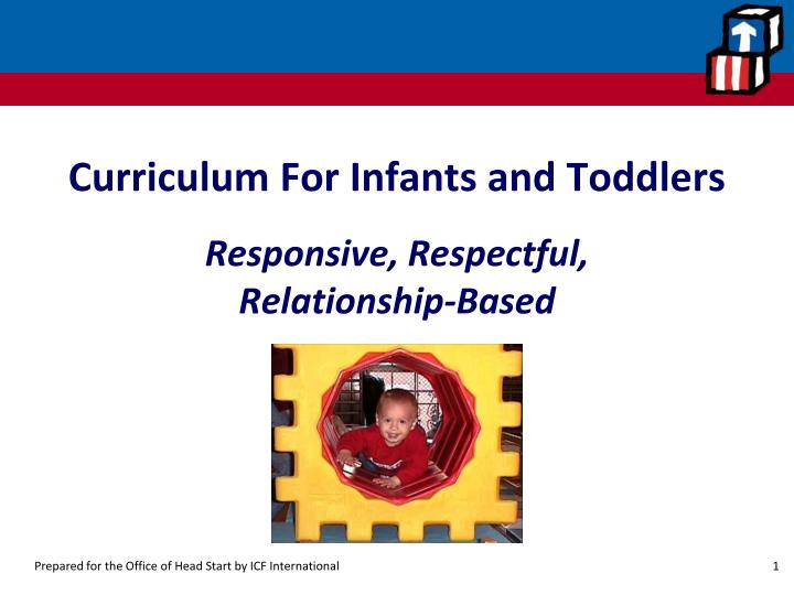 curriculum for infants and toddlers n.