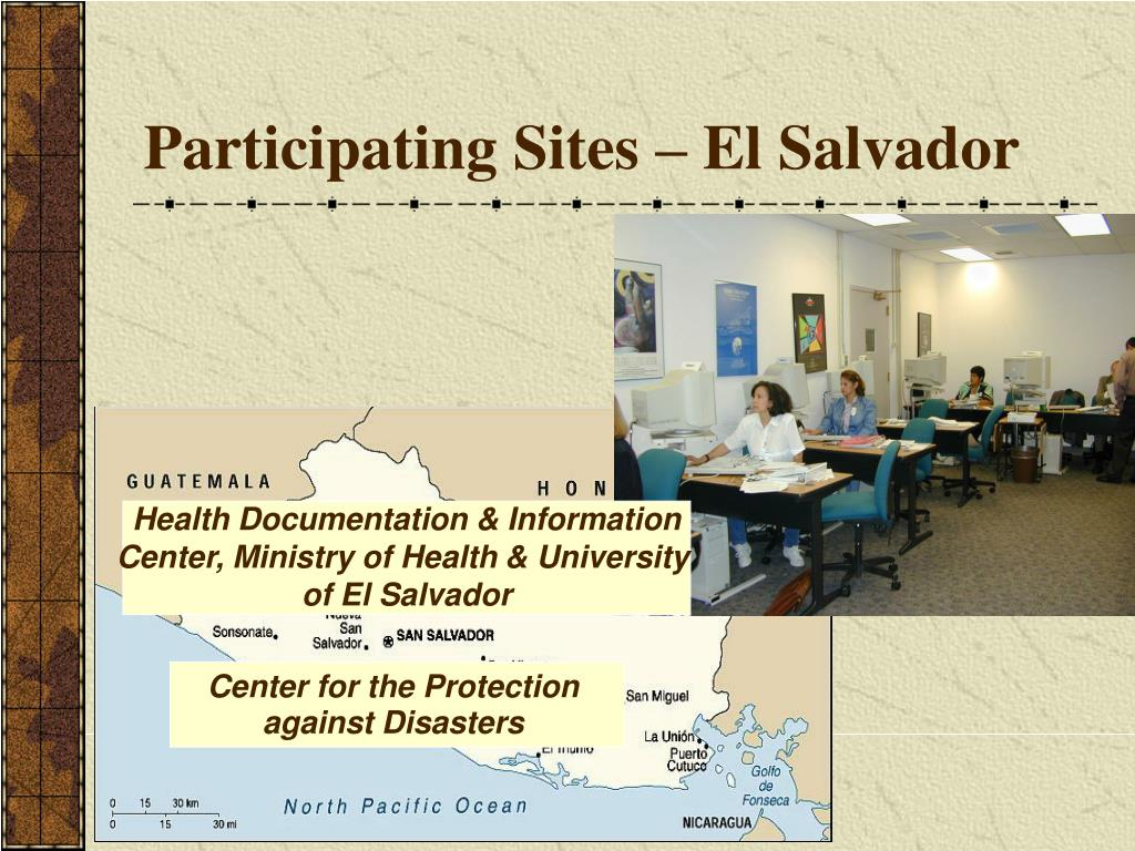 Participating Sites – El Salvador