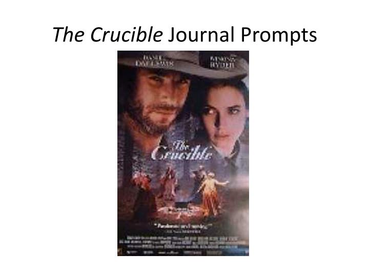 the crucible journal prompts n.