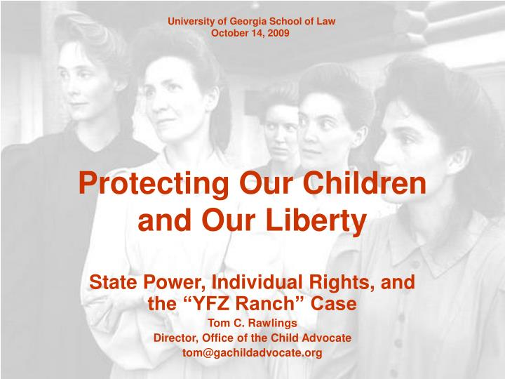 protecting our children and our liberty n.