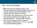 we the eu examples13