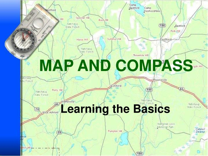 map and compass n.
