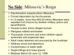 no side milosevic s reign