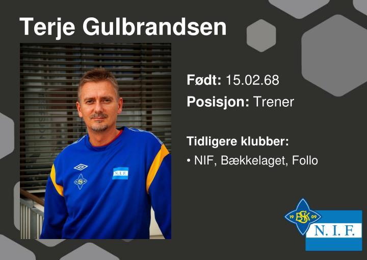 Terje Gulbrandsen