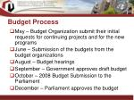 budget process13