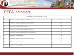 pefa indicators33