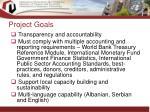 project goals18
