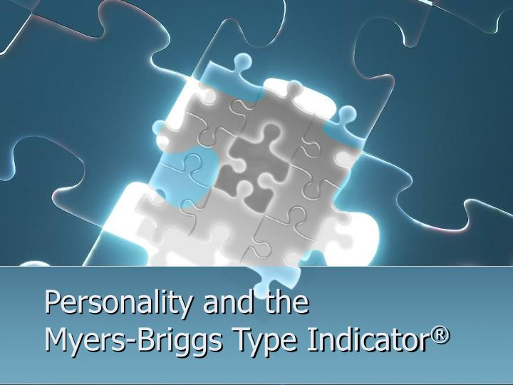 personality and the myers briggs type indicator n.