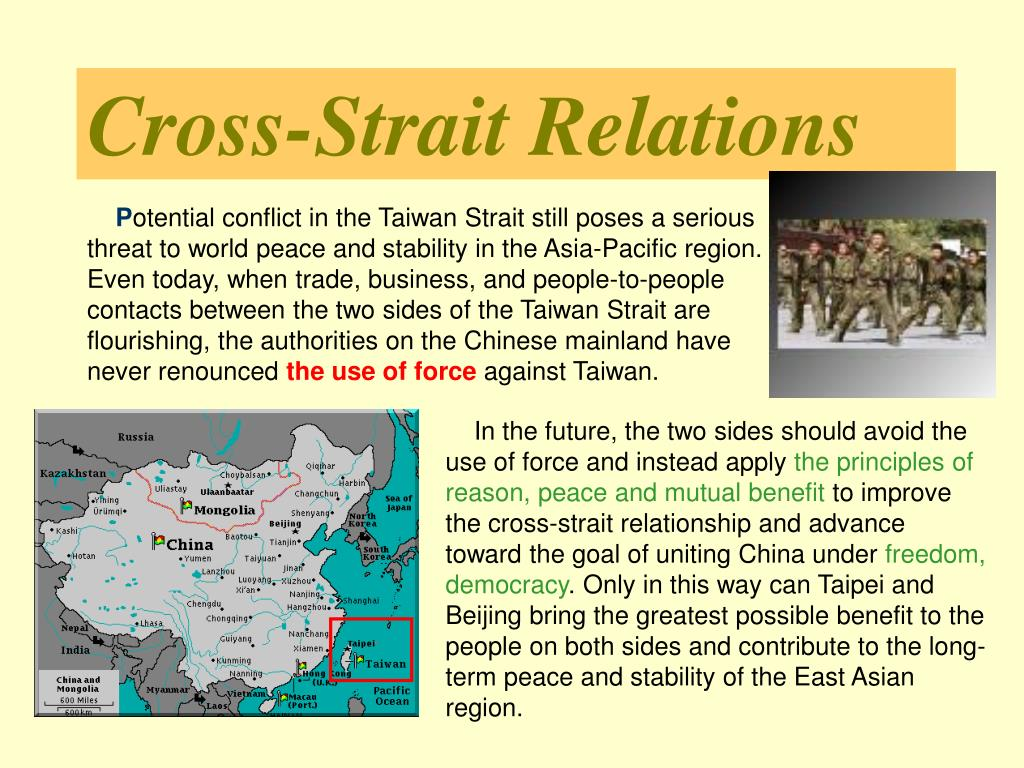 Cross-Strait Relations