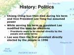 history politics11